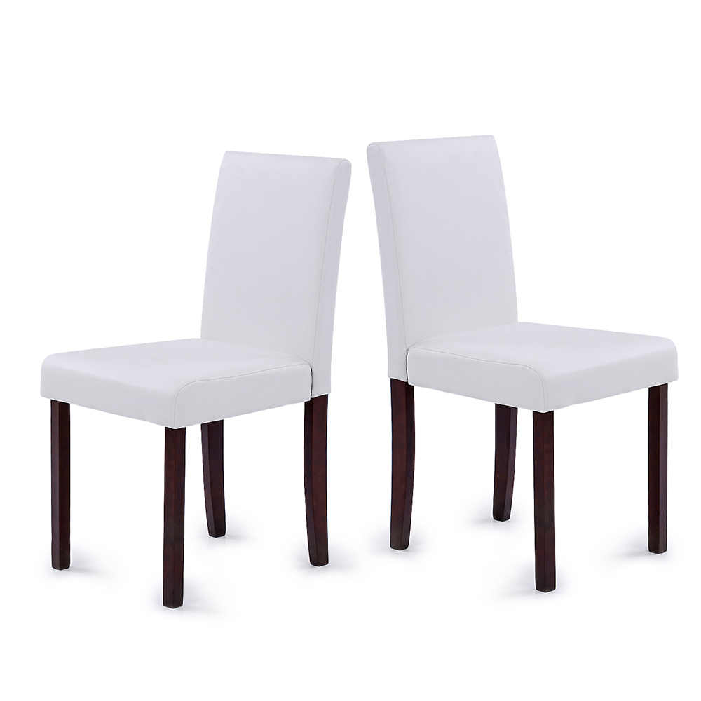 faux leather restaurant dining chairs. ikayaa us stock faux leather dining chairs wood frame padded kitchen side parson breakfast stools restaurant y