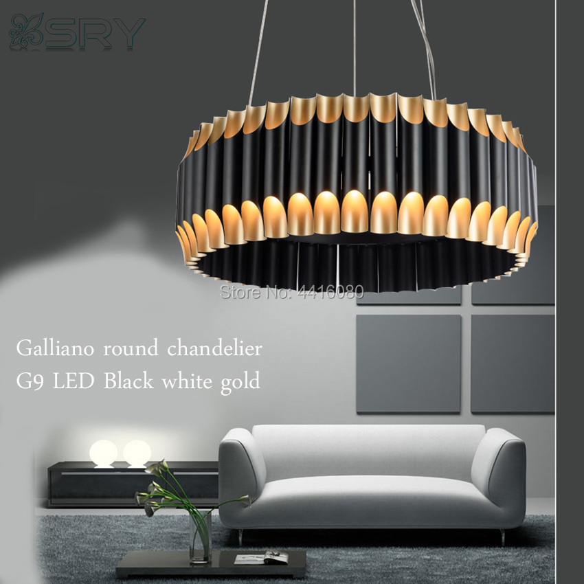 Galliano round chandelier is a mid-century modern light with a shape that was inspired by a pipe organ Light luxury chandelier the scandinavian home interiors inspired by light