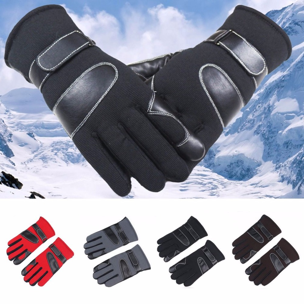 Winter Riding Gloves Thickened Gloves Breathable Plus Velvet Skiing Gloves Screen Touchable Protector Glove Drop Shipping