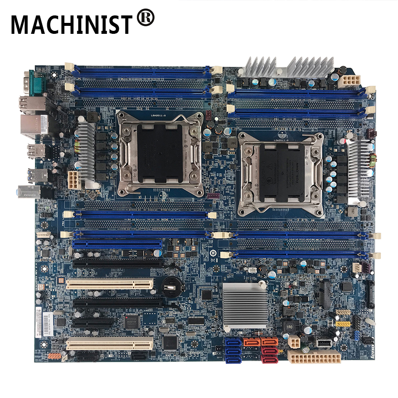 Original For Lenovo ThinkStation D30 C30 <font><b>C602</b></font> X79 workstation desktop motherboard LGA 2011 ECC REG DDR3 03T6730 03T6735 03T6731 image