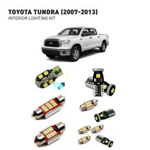 Led interior lights For Toyota tundra 2007-2013  20pc Led Lights For Cars lighting kit automotive bulbs Canbus все цены