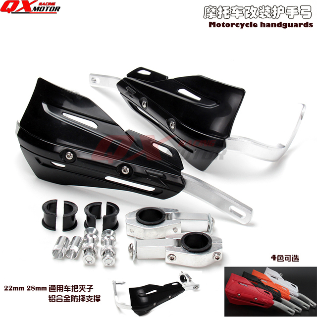 US $14 22 21% OFF|Universal Motorcycle Hand Guards Dirt bike MX Motocross  Handguard For Chinese OEM 250cc Dirt bike Cross -in Falling Protection from