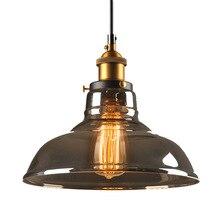 Luzes Pingente de Ferro Forjado Loft do vintage Retro Edison Lâmpada Pendurada Bar Cozinha Sala de estar da Sala de Jantar Lâmpadas Industrial
