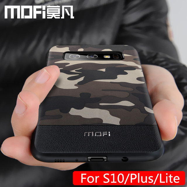 MOFi Samsung Galaxy S10 S10 Plus S10 Lite Camouflage Pattern Shockproof Back Case Cover