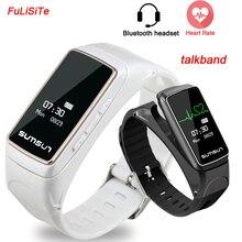 Smart группа наушники B7 talkband Bluetooth наушники Стиль вызова бизнес SmartBand Sleep Monitor музыка умный Браслет для Iphone7