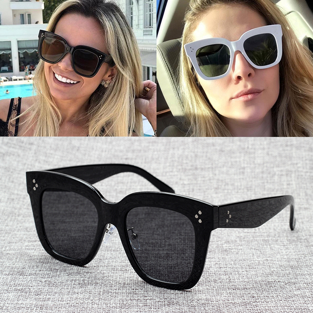 89da63033c7 JackJad New Fashion Women 41444 HAVANA Style Cool Square Sunglasses  Gradient Vintage Dots Brand Design Sun