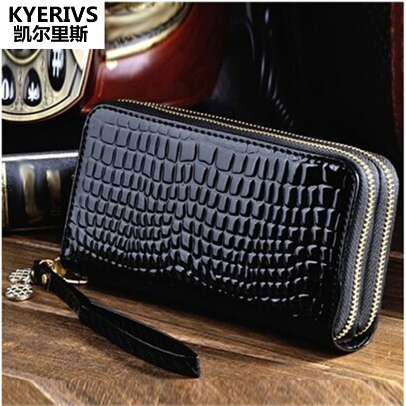 Women Wallets and Purses Pu Leather Wallet Female ID Card Holder Coin Purse Clutch Purse Money Bag Double Zipper Women Wallet bvlriga long ladies leather wallet women wallets and purses female coin purse clutches women card holder walet money bag blue