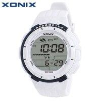 XONIX Kobiet Zegarki Sportowe Wodoodporny 100 m Cyfrowy Zegarek Krokomierz Kalorie Running Pływania Nurkowania Zegarek Montre Femme