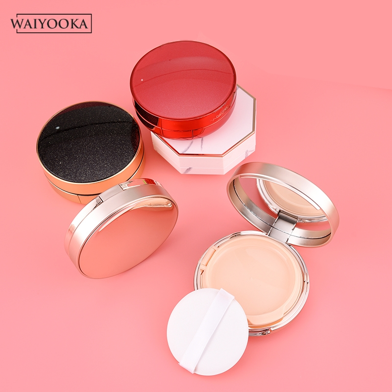 Image 3 - Make Up Case Air Cushion Sponge Powder Puff Empty Box Liquid Foundation BB Cream Makeup Box for cosmetics Dressing Table Storage-in Makeup Organizers from Home & Garden