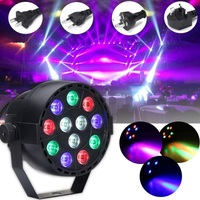 Voice Remote Control 30W RGBW LED Stage Light DMX LED Stage Lighting Effect Laser Lamp For