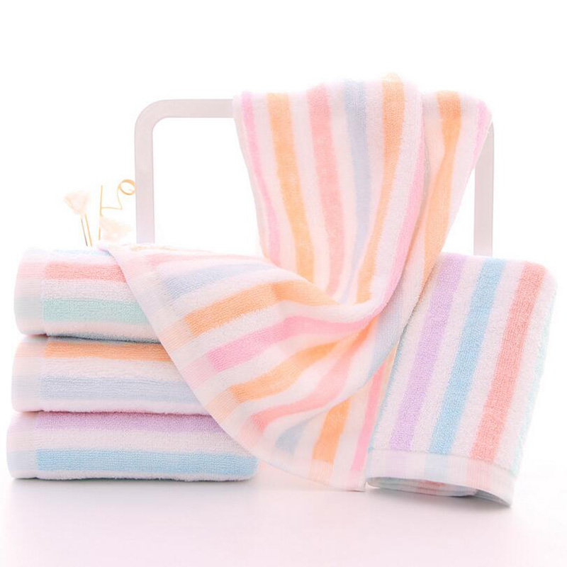 Hot Sale 1PC Hand Towel Wash Cloths For Face Hair Shower Home Bathroom  Outdoor Travel Sports