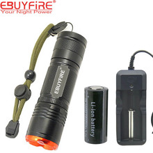 EBUYFIRE EB21 Led flashlight CREE L2 26650 Torch light 5 mode Zoomable flash lamp lanternas de led
