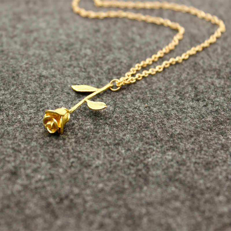 חדש אופנה Boho תכשיטי קולייר Femme שרשרת קולייר זהב צבע פרח הצהרת שרשרת נשים תכשיטי מקסי קולר