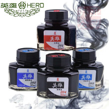 Brand fountain pen ink 50 ml glass bottled black blue red ink refill office supplies for fountain pen stationery school chancery