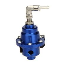 AUTO High Performance Car Fuel Pressure Gauge Adjustable Regulator Blue