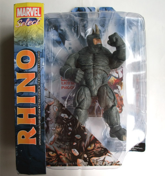 he Amazing Spider-Man 2 Rhino Action Figure Toy amazing spider man worldwide vol 6