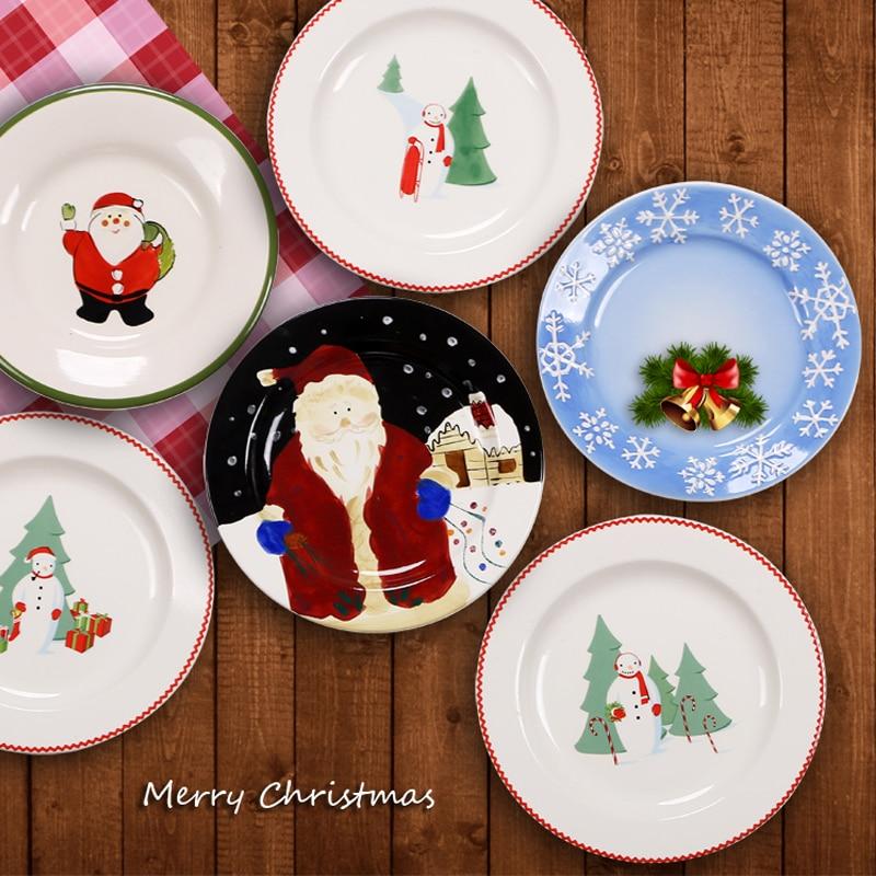 China Christmas Plates