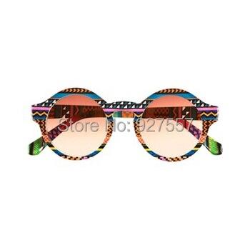 Gafas de estampado Tribal, marco de difracción, Prisma rave