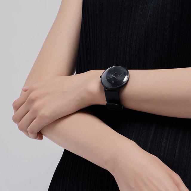 Original Xiaomi Mijia Mi Quartz Smart Watch Men Leather Simple Women Waterproof Bluetooth Sport Smartwatch Mechanical Pedometer