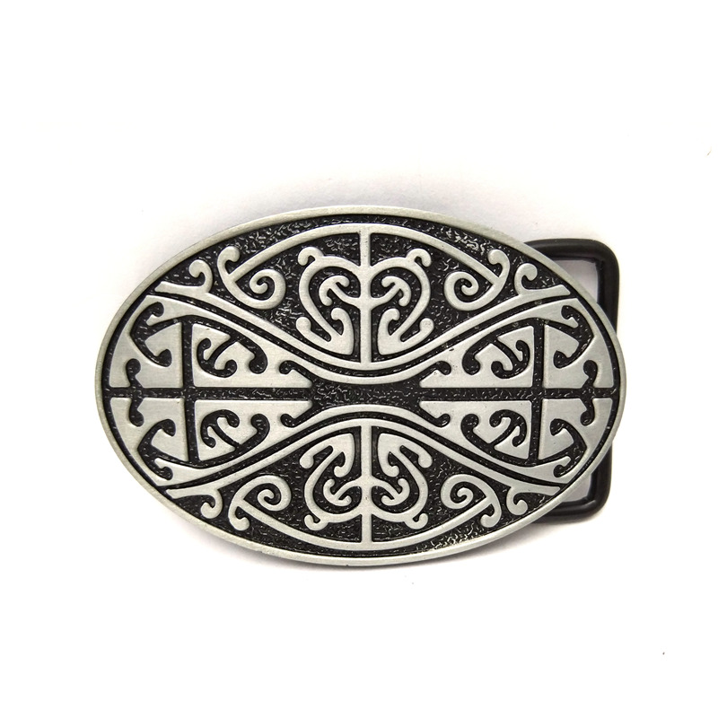 Inch Dress The Cowboys Of The West Belt Buckle Totem Pattern Belt Buckle Restoring Ancient Ways