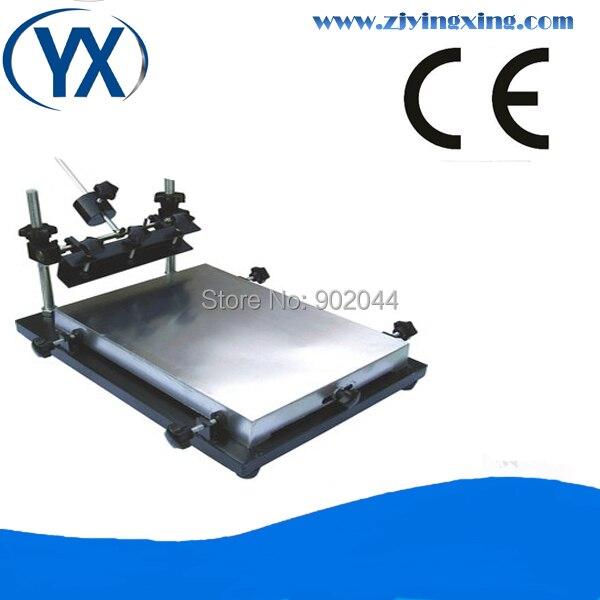Imprimante de pochoir de carte PCB d'écran de SMT 600X420mm, grande taille