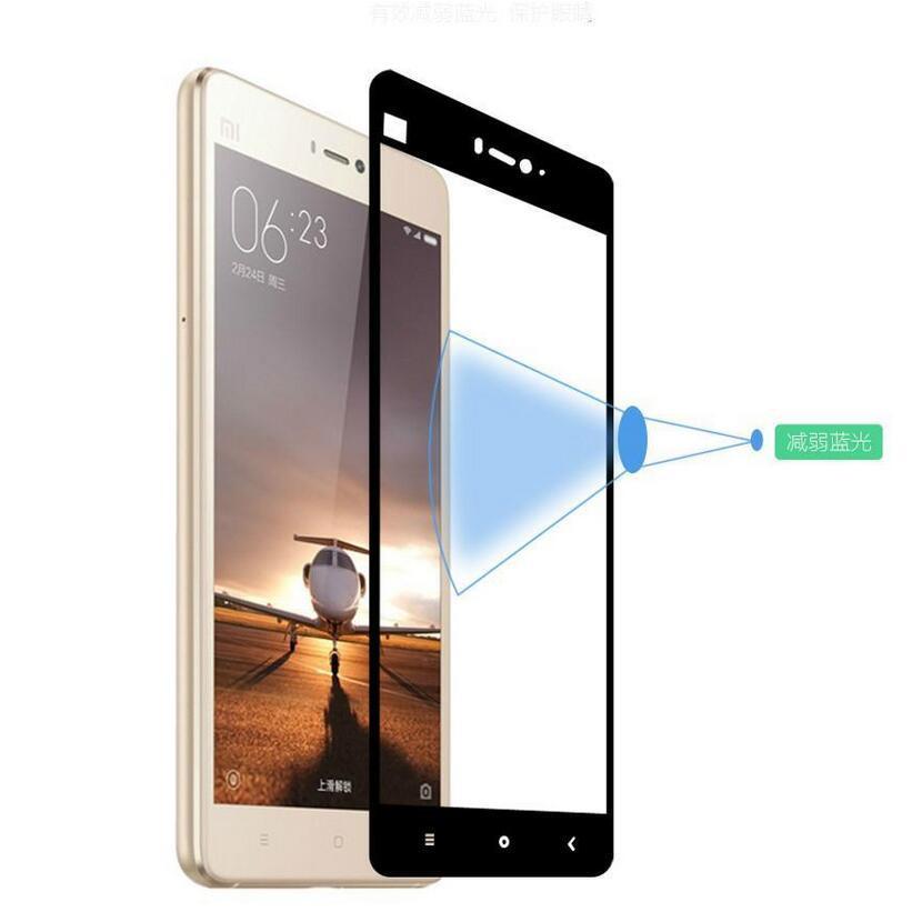 9 H Pełna Pokrywa Szkło Hartowane Dla Xiaomi Redmi 3 3 S 3X4 4A Pro Uwaga 4 Uwaga 3 2 Mi4 Mi5 Mi5S Mi6 Screen Protector Hartowane Film 5