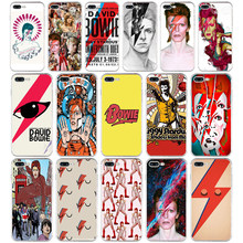 217SD David Bowie Zachte TPU Silicone Cover Case Voor Apple iPhone 6 6 s 7 8 plus Case(China)