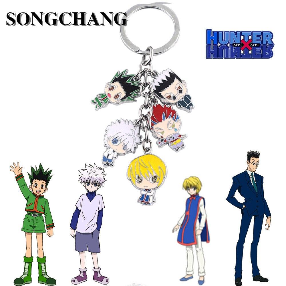 HUNTER x HUNTER Mini Figure Swing Keychain Full set KILLUA GON NEW F//S
