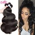 Rosa Hair Products 7A Brazilian Body Wave Virgin Hair 4 Bundles Unprocessed Body Wave Human Hair Weave Extensions Deep Wave Hair