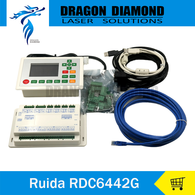 CO2 Laser Machine Ruida RDC6442G Co2 Laser DSP Controller for Laser Engraving and Cutting Machine RDC 6442G