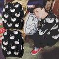 Ripndip Fallin Для Nermal Вязать Толстовка Мужчины Женщины Хип-Хоп Хлопок O-образным Вырезом Падение Средний Палец Cat Мультфильм Ripndip Толстовки и кофты