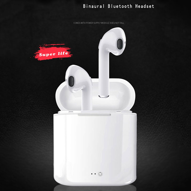 DPRUI Mini v4.2+der twins true wireless earbuds Sport Earphones Wireless Earphones Bluetooth Earpiece Earbuds for Iphone