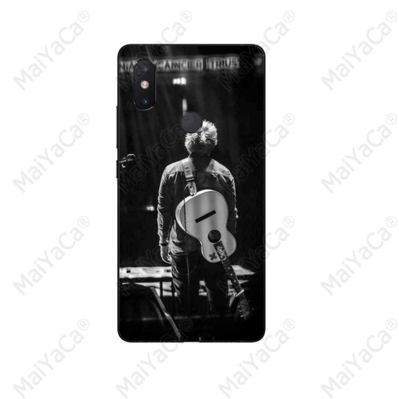 MaiYaCa Ed Sheeran Black TPU Soft Silicone Phone Case Cover for Redmi 5 plus Note 5 Xuiaomi Mi 8 8SE 6 MIX 2 2S Mobile Cases in Half wrapped Cases from Cellphones Telecommunications