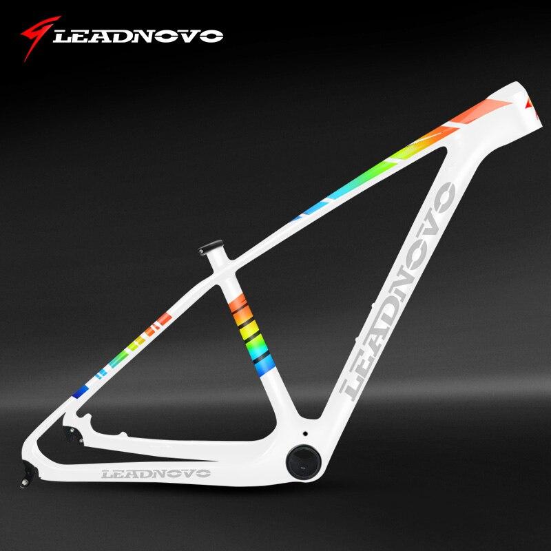 ! LEADNOVO 27.5/29er mtb carbon bike frame mountain bicycle frameset bicicletas mountain bike carbono frames