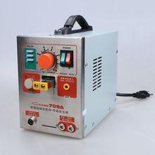 1.9kw 220 В SUNKKO LED Пульс Батареи для Точечной сварки 709A с Паяльником Станции Точечной Сварки Машина 18650 16430 14500 батареи