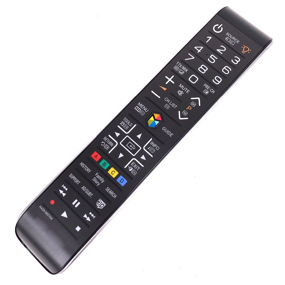 купить New Original remote control For SAMSUNG SMART 3D TV AA59-00570A UE46ES6800U UE55ES6800U по цене 1975.33 рублей
