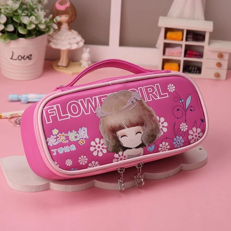 Купить сумка для карандашей пакет с цветами девочек школьные канцелярские