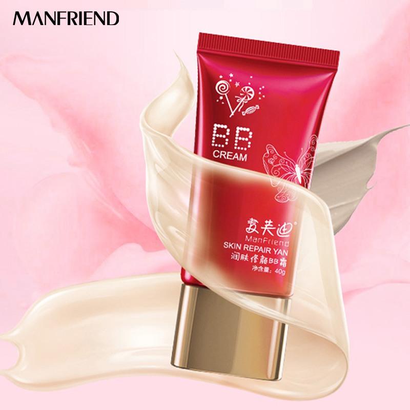 Multi effect BB Cream Nude Makeup Concealer Moisturizing Strong Whitening Face Beauty Natural Lasting Invisible Pores