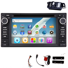 Android 5.1 Stereo Sub USB OBD2 Logo Car DVD 2Din HeadUnit 1080P Auto Radio GPS CAM Audio BT AMP PC System For Toyota Corolla