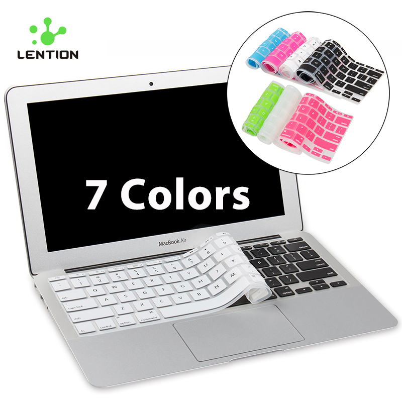 ④For MacBook Air 11 inch Ultrathin Silicone Colorful Keyboard ...
