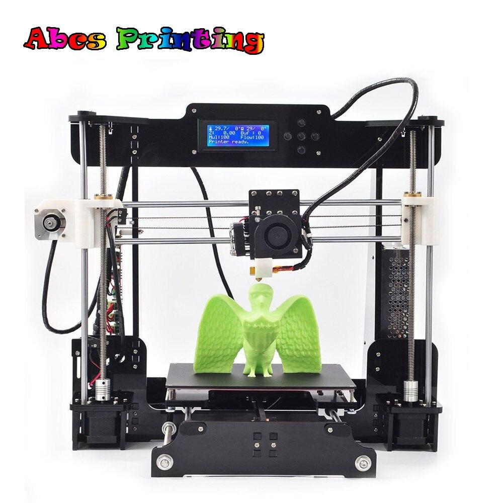Hot!! CTC A8 Desktop 3D Printer DIY Kit High Printing Machine Precision 3D Printer Part цена и фото