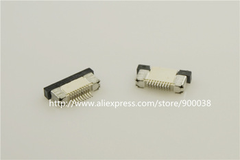 """1000pcs / Tape & Reel FPC connector 0.50 mm 0.020"""" 9 Pin Bottom Contact Right angle SMD ZIF Slide Lock Surface Mount"""