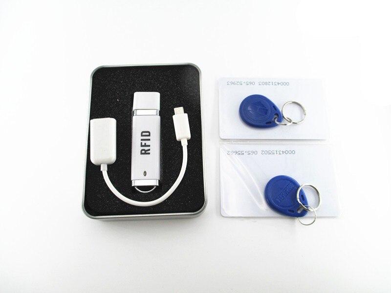 Micro 125KHz OTG Mini USB RFID Reader for iPad Android Mac Windows Linux Windows