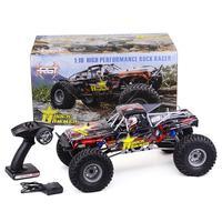 RGT 18000 1/10 2,4 ГГц 4WD гоночный автомобиль RC внедорожных Рок Гусеничный Monster Truck дистанционного Управление электрические игрушки автомобиль