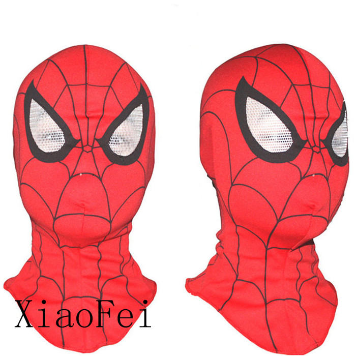 Kids Cosplay Super Hero <font><b>Spiderman</b></font> Mask <font><b>Gloves</b></font> <font><b>Adult</b></font> Fancy Dress Costume Party Accessory Christmas Child Gift