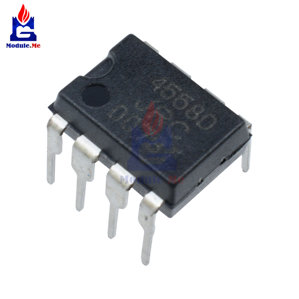 5 Pcs Jrc4558 4558 4558d Jrc4558d Dip 8 Integrate Ic Chip In 1000pcs Lm358 Sop8 Integrated Circuit Operational Amplifier