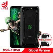 Küresel Sürüm Xiaomi Siyah Köpekbalığı LiquidCool Oyun Telefon 8 GB 128 GB Snapdragon 845 Octa Çekirdekli Çift 20.0MP 18:9 Tam e...