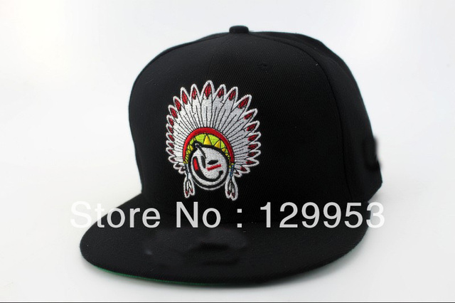 YUMS Snapback caps YU50 black kings big chief designer men fashion baseball  hats ! 9f47149e669