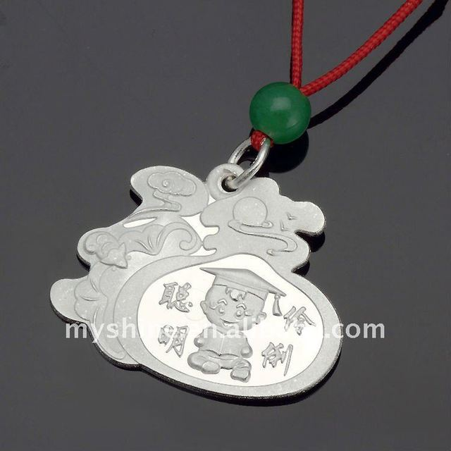 lovely 925 kids blessing pendant jewelry