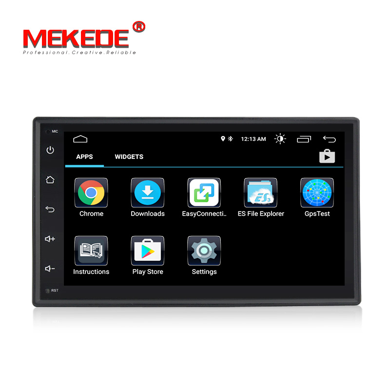 New model!MEKEDE Universal Android 8.1 Car GPS DVD player for Nissan V/W Toyota Peugeot KIA car Multimedia with wifi 4G SWC navi-in Car Multimedia Player from Automobiles & Motorcycles    3